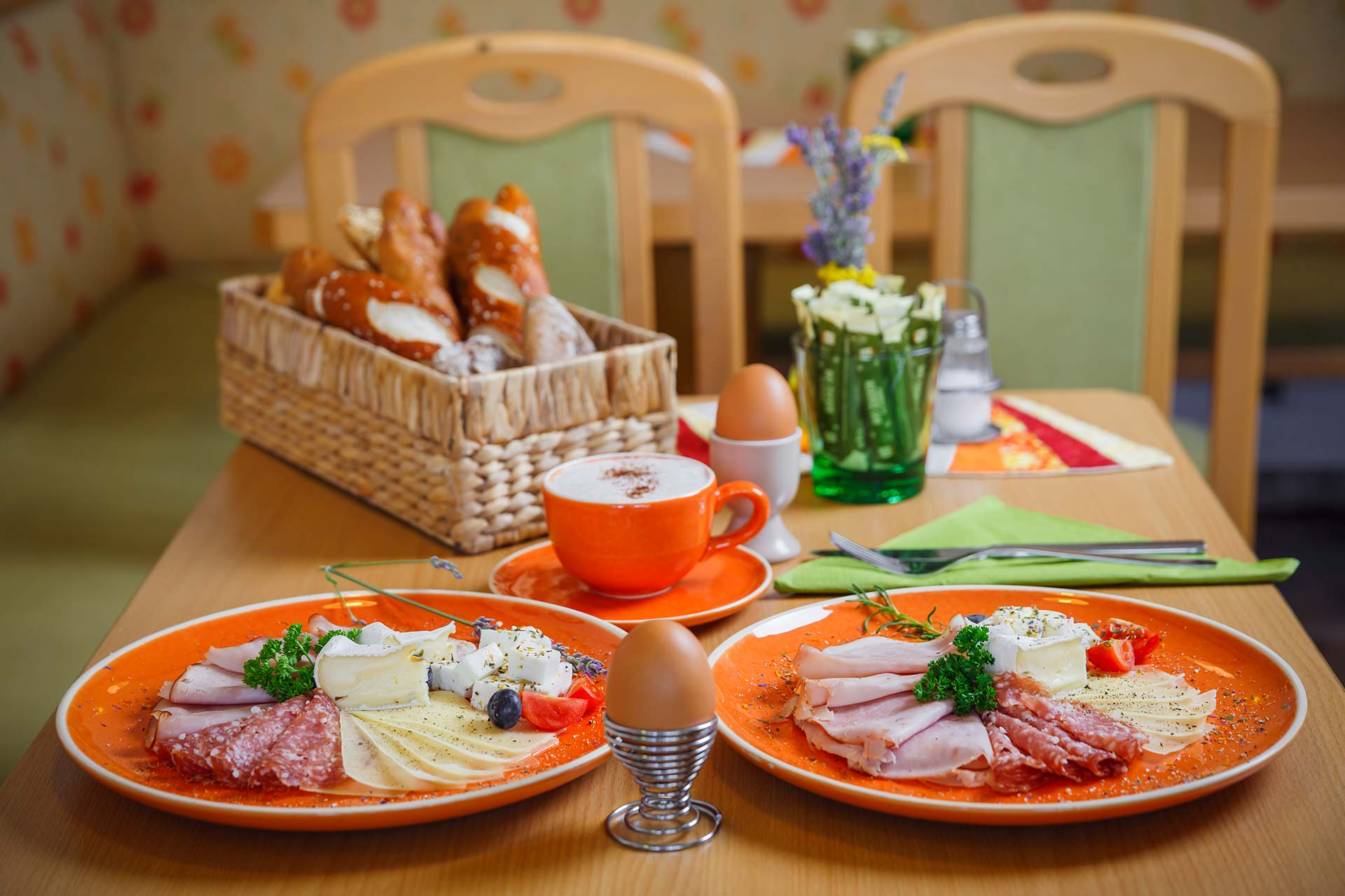 Bäckerei Nadrag Bio Frühstück